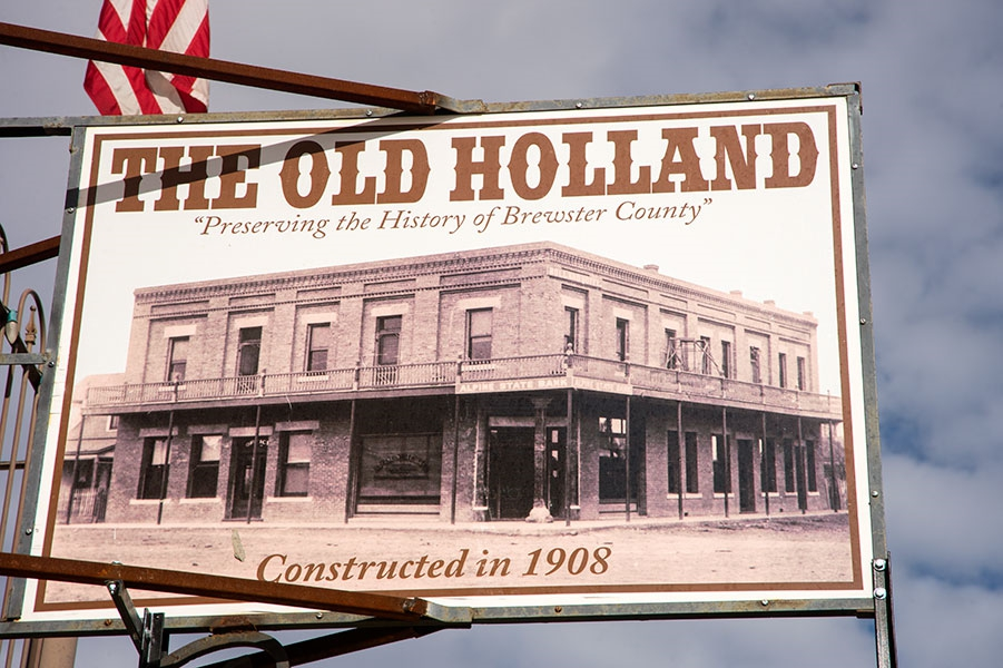 The Old Hotel Holland In Alpine  Texas
